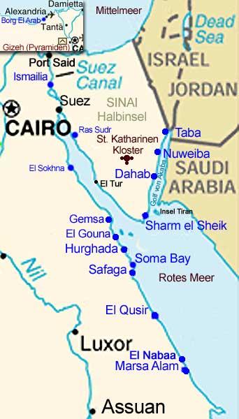 Stadte In Agypten